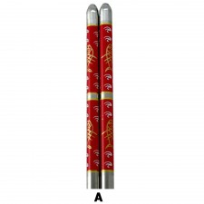 5 Pairs S/Steel Chopsticks with Design - Design A