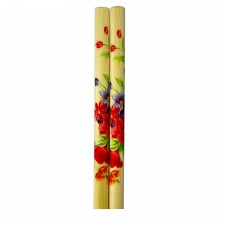 5 Pairs Bamboo Chopsticks with Design - Design A