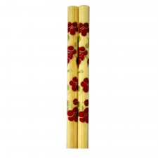 5 Pairs Bamboo Chopsticks with Design - Design B