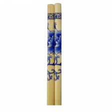 5 Pairs Bamboo Chopsticks with Design - Design C