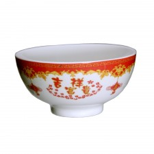 Porcelain Bowl 4.5 inch Prosperity 6 PCS Set