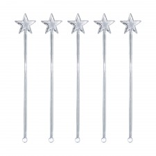 Crystal Star Stiring Stick (50 pcs) - Design D
