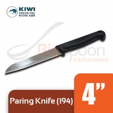 KIWI Paring Knife With Plastic Handle 4 inch [194]