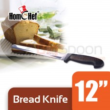 HOMCHEF Bread Knife 12 inch [S-1511-12]
