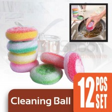 Cleaning Ball 12-pcs Set [BS6005]