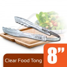 Clear Plastic Food Tong [PT-11]