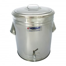 HOMSUIT Insulated Beverage Dispenser Bucket Stainless Steel - 32L