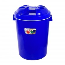 Picnic Insulated Bucket Plastic 27L - Blue