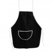 Cotton Apron PVC Layer - Black [9503L]