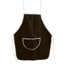 Cotton Apron PVC Layer - Coffee [9503C]