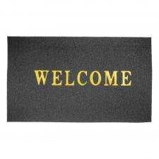 Door Mat (WELCOME) - Grey [4575WE]
