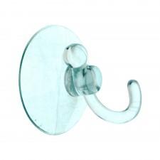 Suction Wall Hook Hanger Transparent 35mm [35B2]