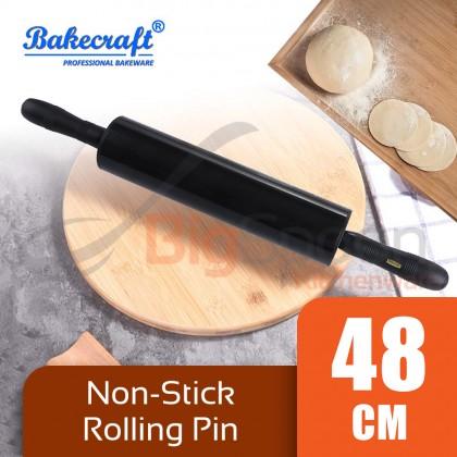 BAKECRAFT Non-Stick Rolling Pin Black 48cm [MG-499]