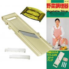 SHIMOMURA Adjustable Mandoline Vegetable Slicer VS-101 – 100% Japan Original