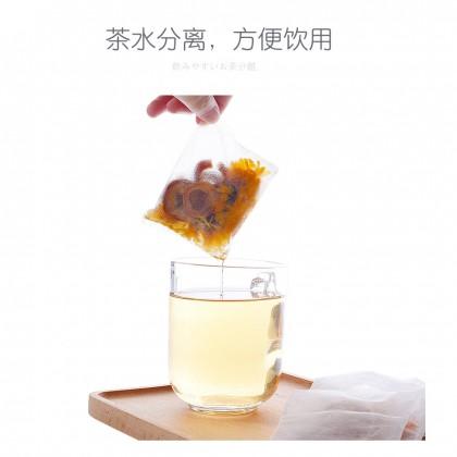 KYOWA Japanese Tea Filter Disposable Bag with Zipper 66-PCS Set