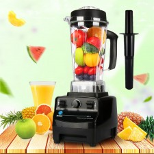 Professional High Performance Heavy Duty Multipurpose Multifunctional 3HP Commercial Blender 2L Fruit Juicer Mixer Meat Mincer Smoothie Machine Soya Bean Milk Maker 2200W