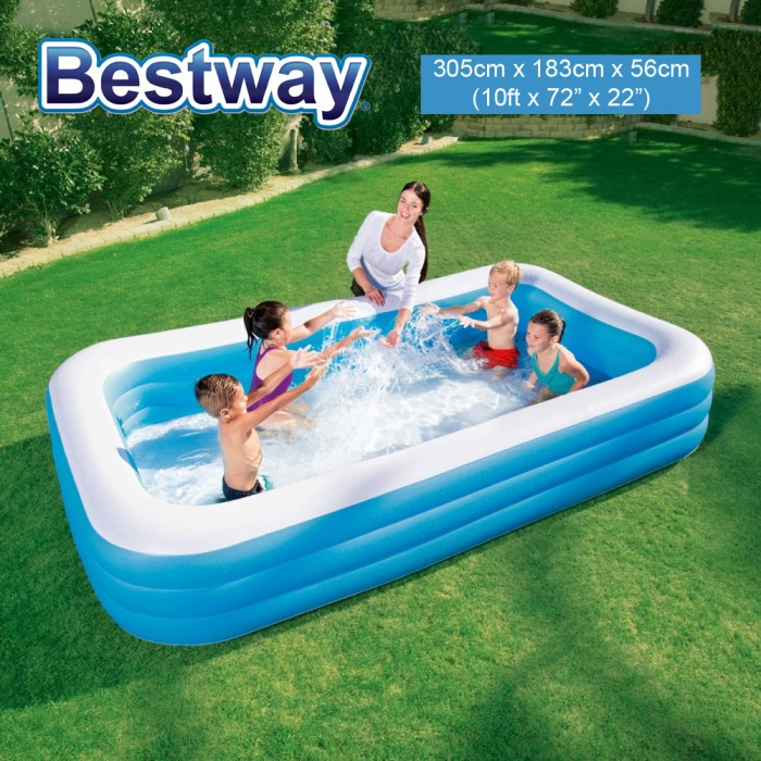 Bestway 10ft 305cm Rectangular Extra Large Inflatable