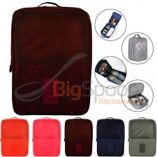 BIGSPOON Travel Shoes Bag Nylon Waterproof Multipurpose Shoe Storage Organizer Pouch