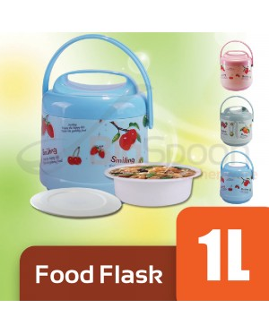 2 Layer Food Jar 1000ml Food Flask Warmer Container 1L Lunch Box