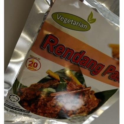 [HALAL-VEGETARIAN] Little Nyonya - Rendang Paste 250g 素干咖喱即煮酱料 Pes Vegetarian Rendang Rempah  Authentic Taste Penang Food No Preservative No Flavouring