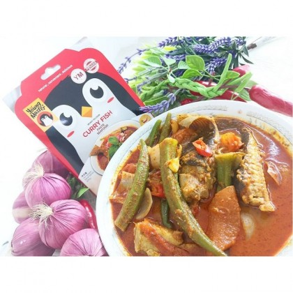 [HALAL] Young Master – Ready to Cook Curry Fish Seafood Paste 200g 咖喱鱼即煮酱料 Pes Kari Ikan Taste of Penang Natural Convenient Delicious
