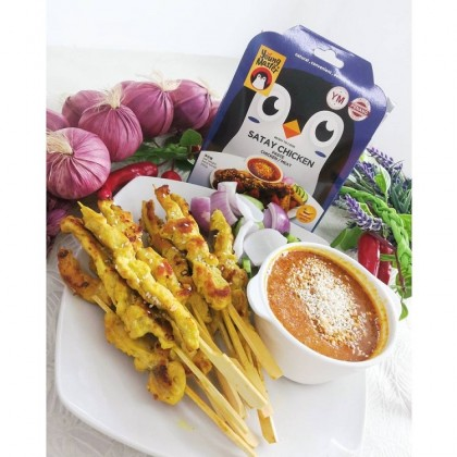 [HALAL] Young Master – Ready to Cook Satay Chicken / Meat Paste 200g 沙爹鸡 / 肉类即煮酱料 Pes Satay Ayam / Daging Taste of Penang Natural Convenient Delicious