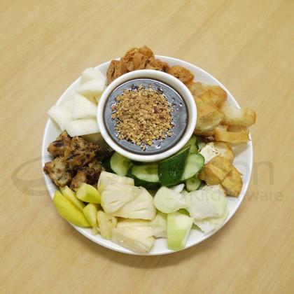 [HALAL] RICHMOND - Hot Rojak Sauce 400g Rojak Paste Fruit Vegetable Salad 啰杂 罗惹 罗喏 啰吔 Kuah Rojak Famous Penang