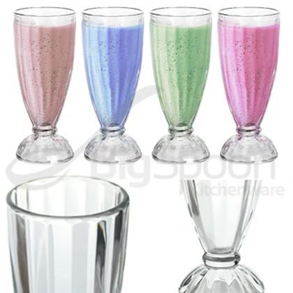 RENOX Break-Resistant Milkshake Soda Glass 473ml Plastic Tumbler AS Material Ice Cream Sundae Dessert Smoothie Fruit 无毒耐摔奶昔冰沙杯 1-1112-16