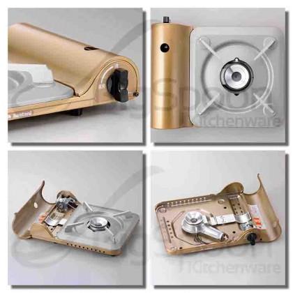 [ORIGINAL] IWATANI CB-SS-50 Tatsujin Slim III Cassette Fue Portable Gas Stove Outdoor High Power Tungku Dapur Gas for Steamboat Teppanyaki BBQ Grill Sukiyaki Takoyaki Home Gathering Camping Picnic