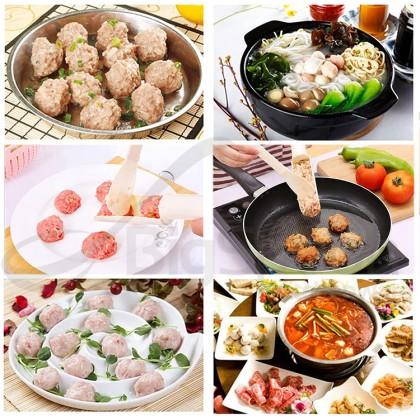 PC Creative Meatball Maker Essential Home Kitchen Tools Helper Cooking Assistant 挤鱼丸子虾丸神器