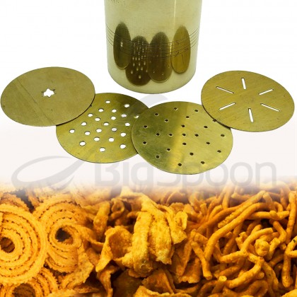 Tamboli Brass Indian Snack Murukku Noodle Press Maker