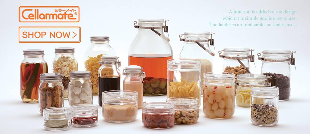 CELLARMATE Glass Jar
