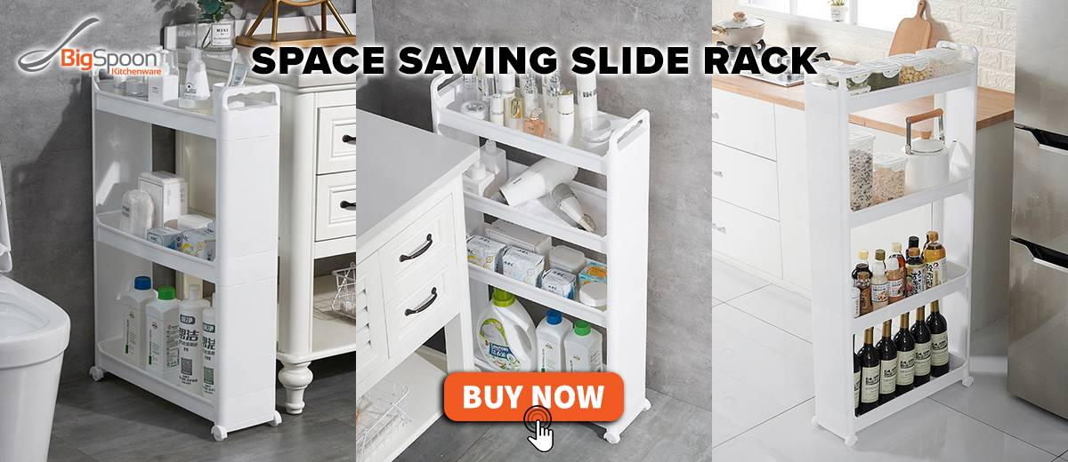 Space Saving Slide Rack