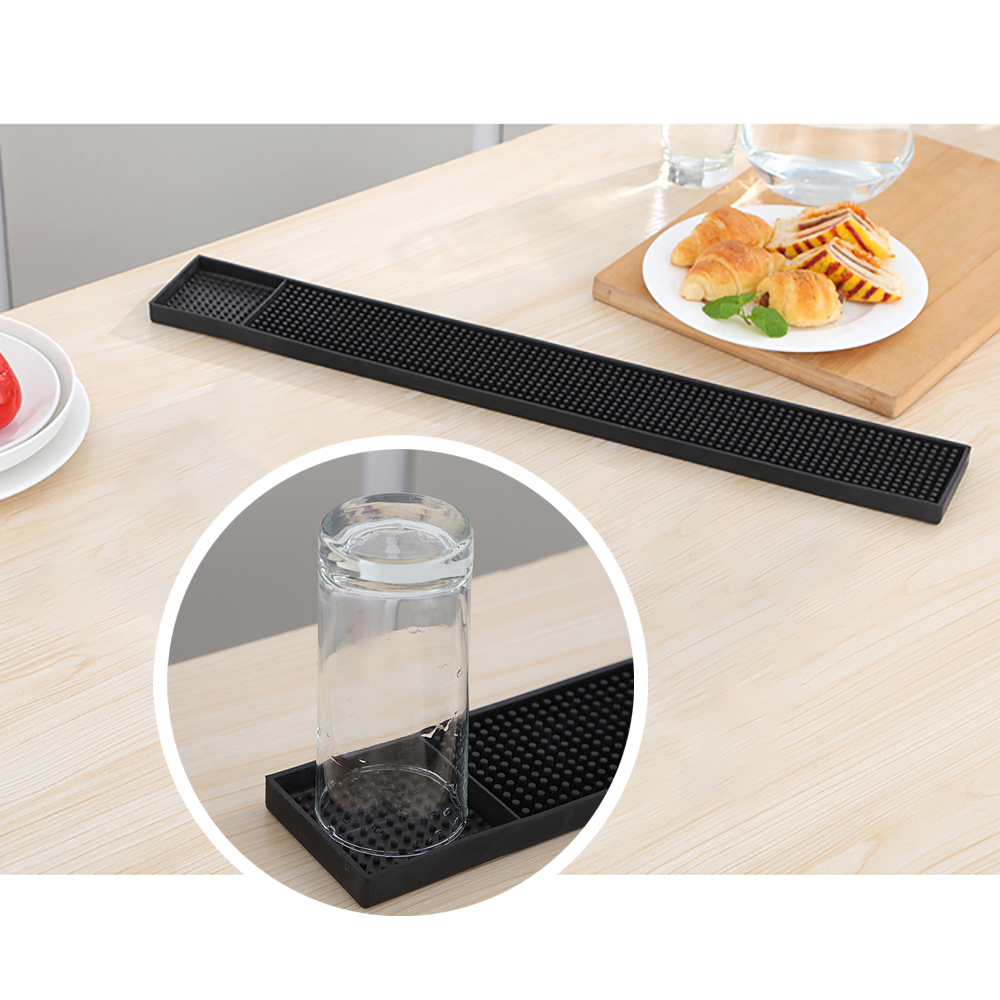 Kitchen Spills: BIGSPOON Professional Rectangle Rubber Bar Service Spill